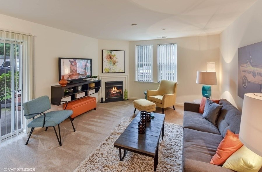 Designer Trim Accents at The Residences at the Manor Apartments, Frederick, Maryland