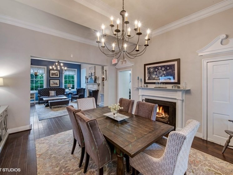 Living Space  at The Residences At The Manor Apartments in Frederick, MD