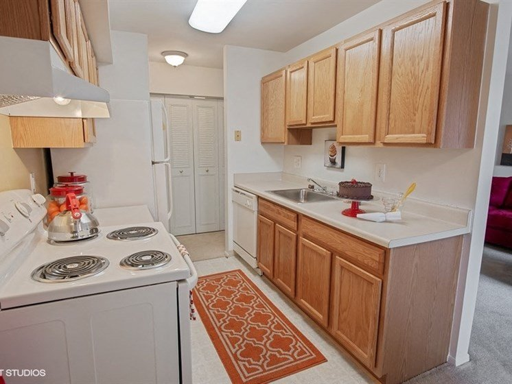 Kitchen  at The Residences At The Manor Apartments in Frederick, MD