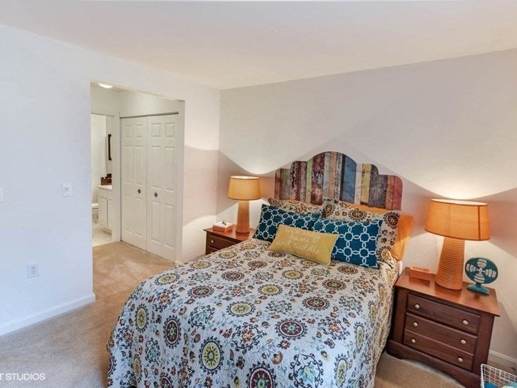 Classic Bedroom at The Residences at the Manor Apartments, Maryland