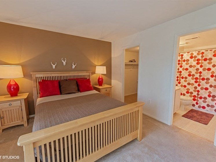 Bedroom  at The Residences At The Manor Apartments in Frederick, MD
