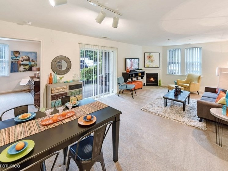 Defined Dining Space at The Residences at the Manor Apartments, Maryland, 21702
