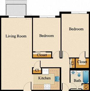 Two Bedroom Deluxe Upgraded