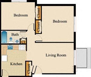 Two Bedroom Standard