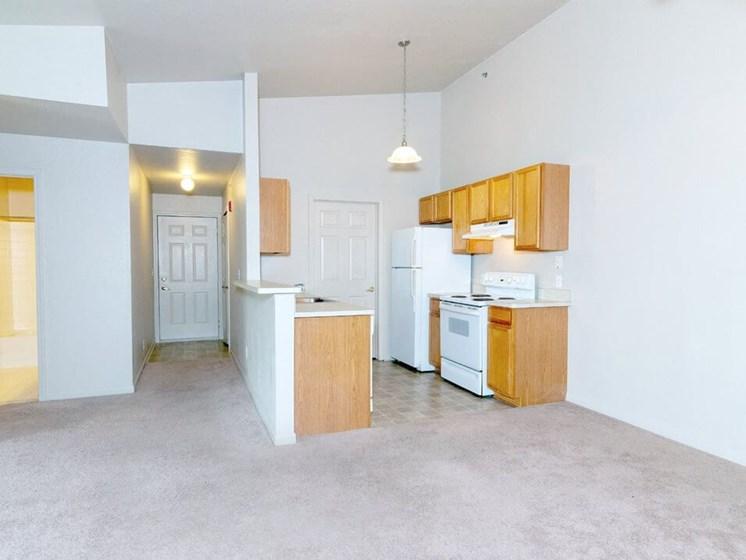 kitchen at Chelsea Park Apartments