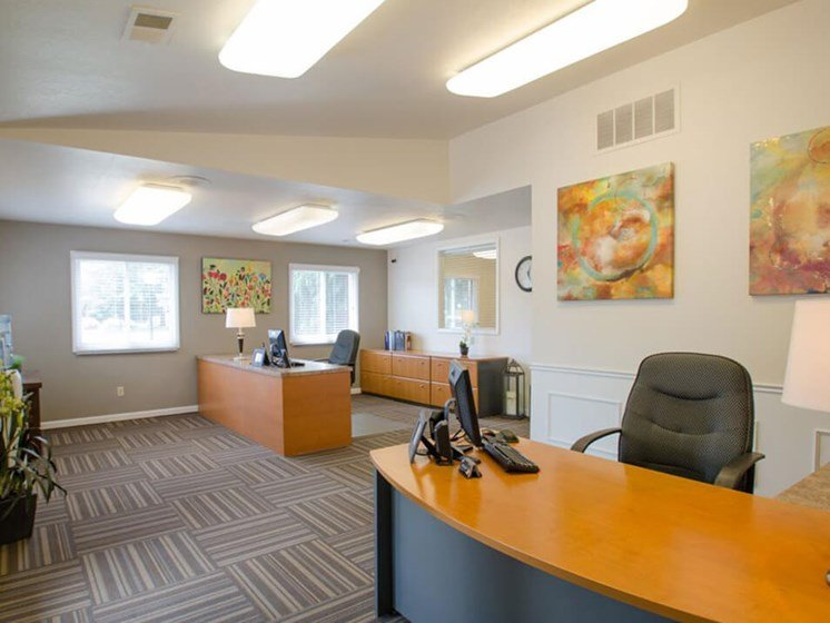 Leasing Office at Valley Stream Apartments