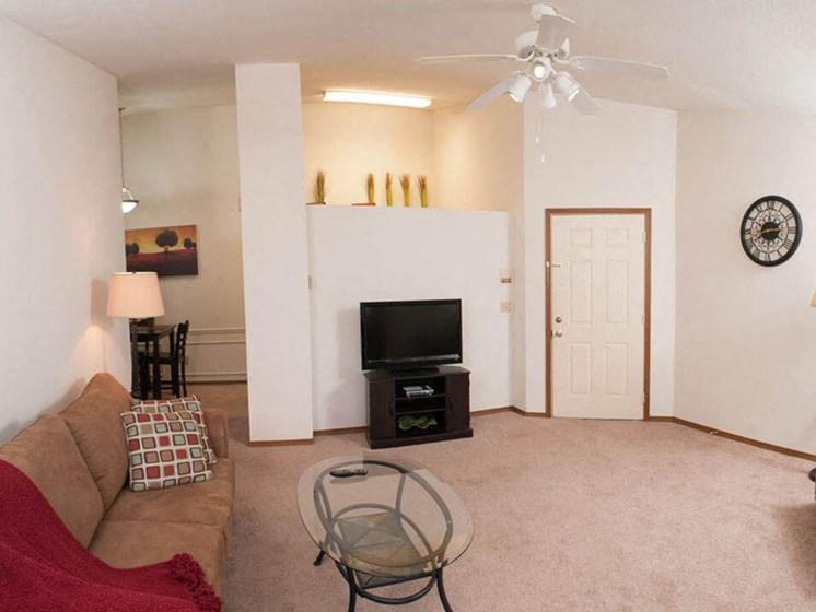 Open Apartment Floorplan