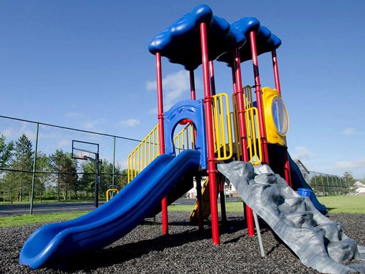 playground at apartment community