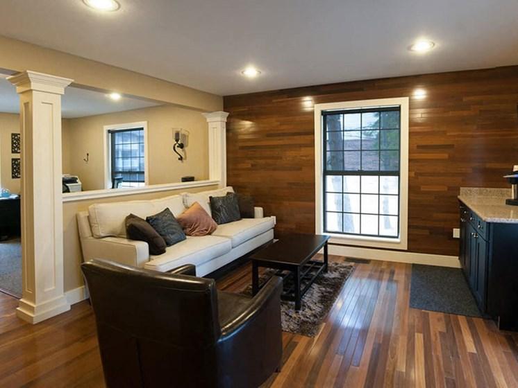 living room at Eastland Apartments