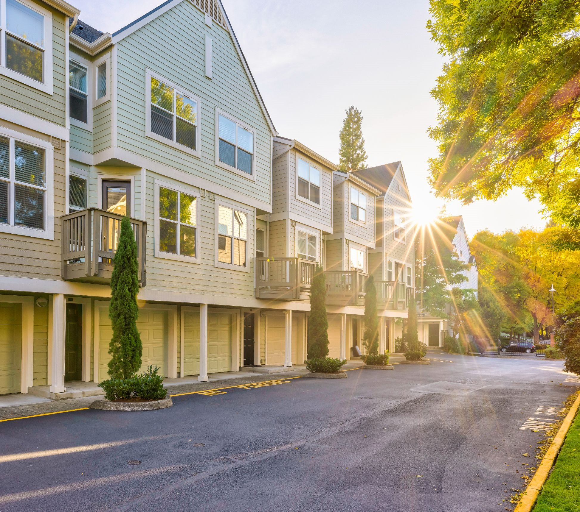 Exterior Townhomes