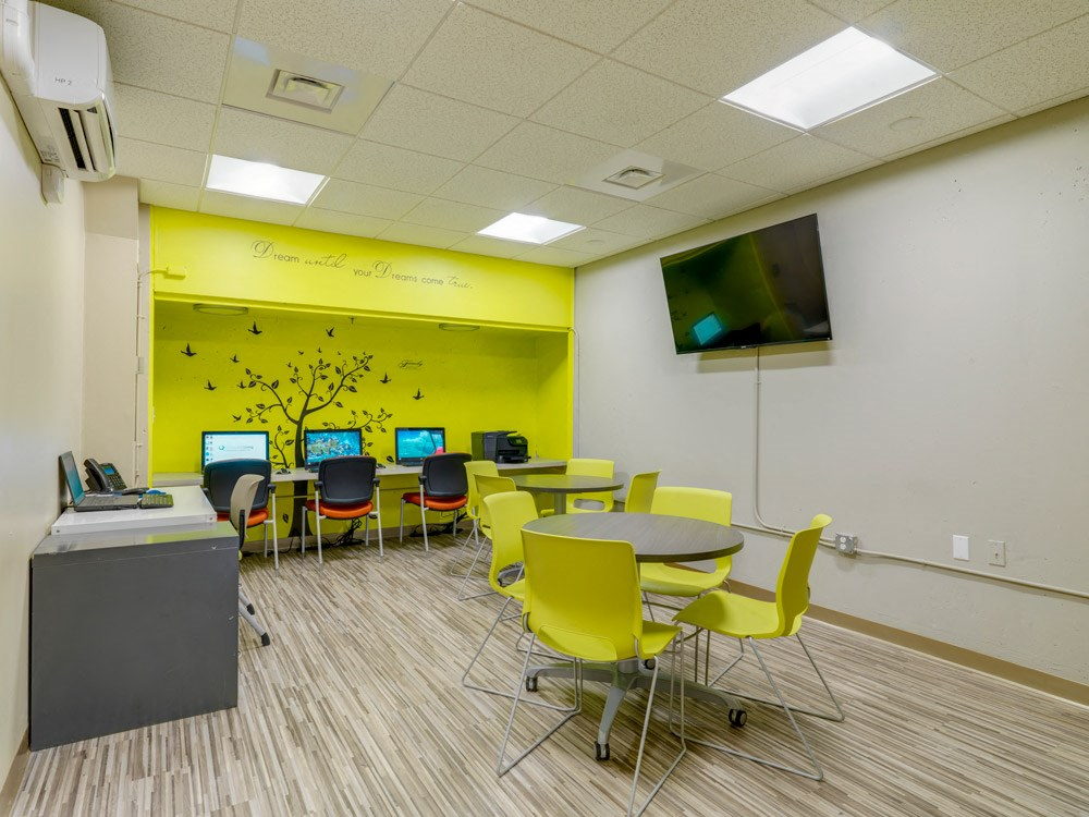 Computer Learning Center at Quincy Tower in Boston, MA