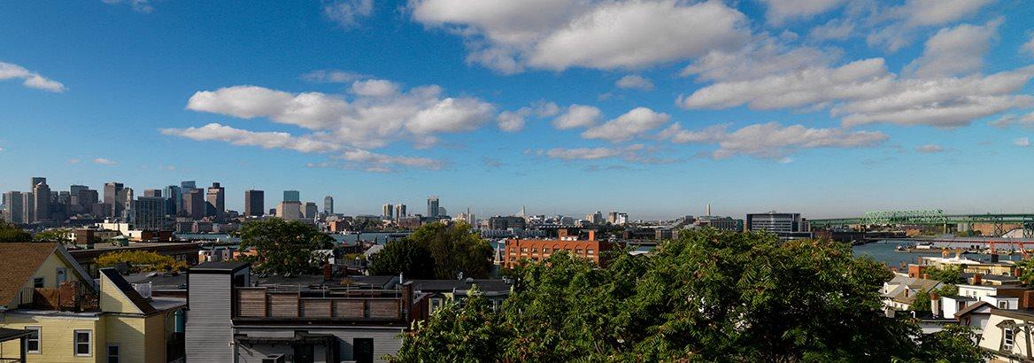 Chapman House Apartments view of Boston, MA