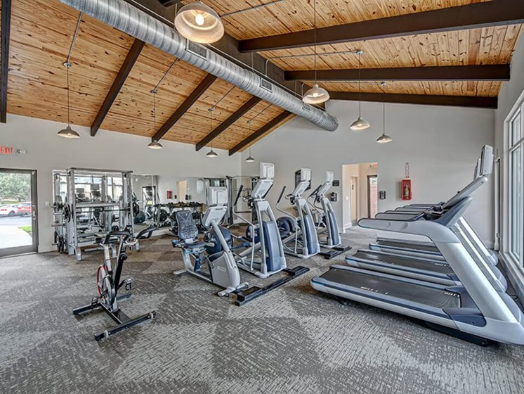 apartment fitness center Greenville, NC