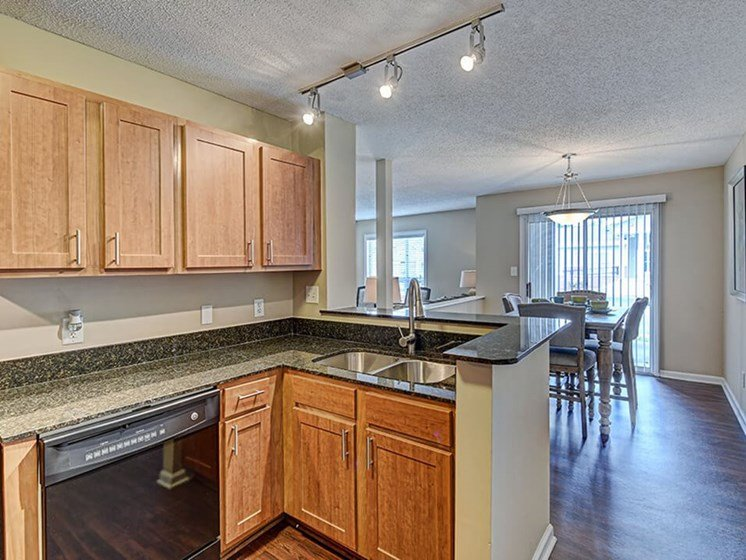Open Kitchen in Apartment