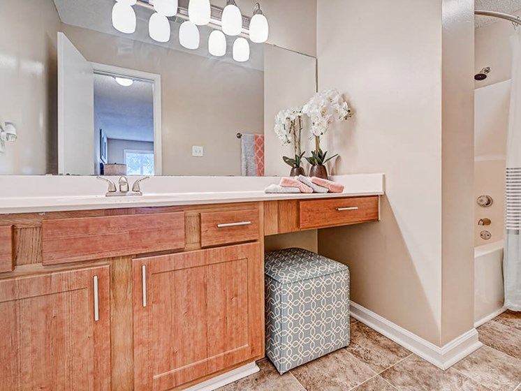 Connected Bathroom in Apartment