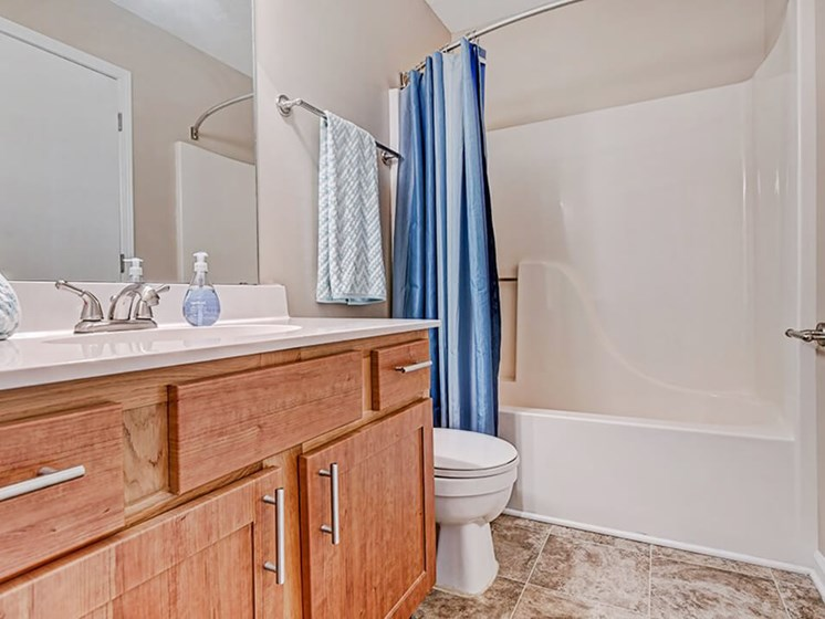Apartment Bathroom with Shower