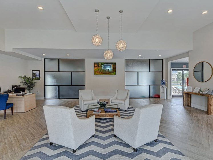 rentable clubhouse at The Madison Apartments