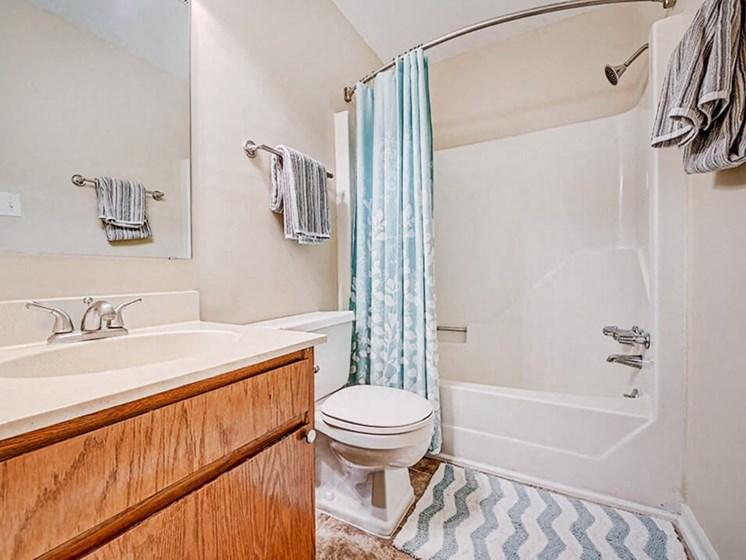 large bathroom at Greenville NC apartments