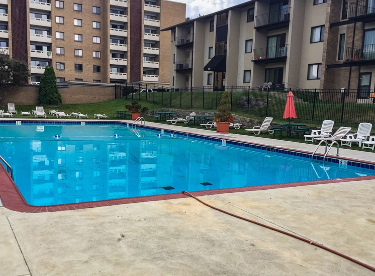 Carriage Park Apartments Pool