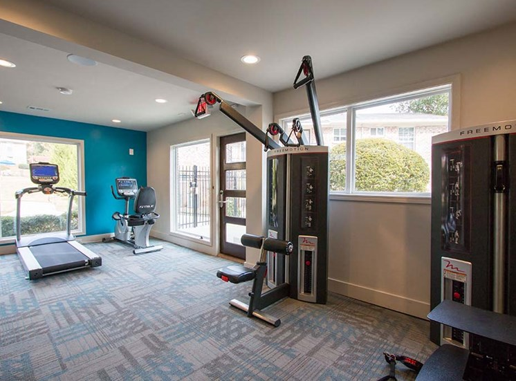 Health and Fitness Center Fully Equipped with state-of-the-art Freemotion Strength Training Equipment at Artesian East Village, Atlanta, GA 30316