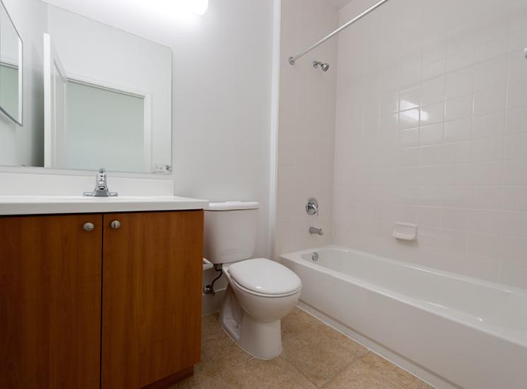 spacious bathroom with tub/shower