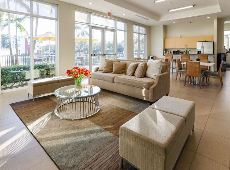 luxurious community clubhouse
