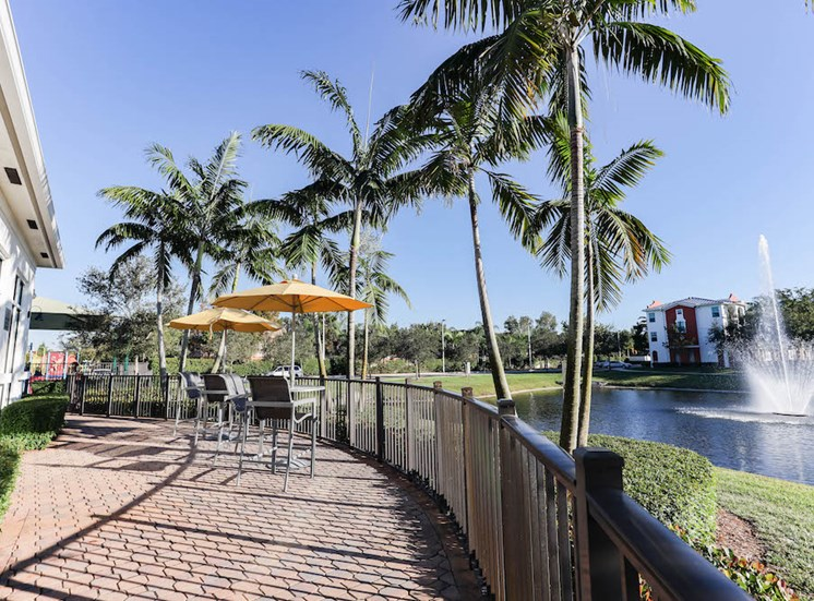 tropical features at our Davie, FL apartments