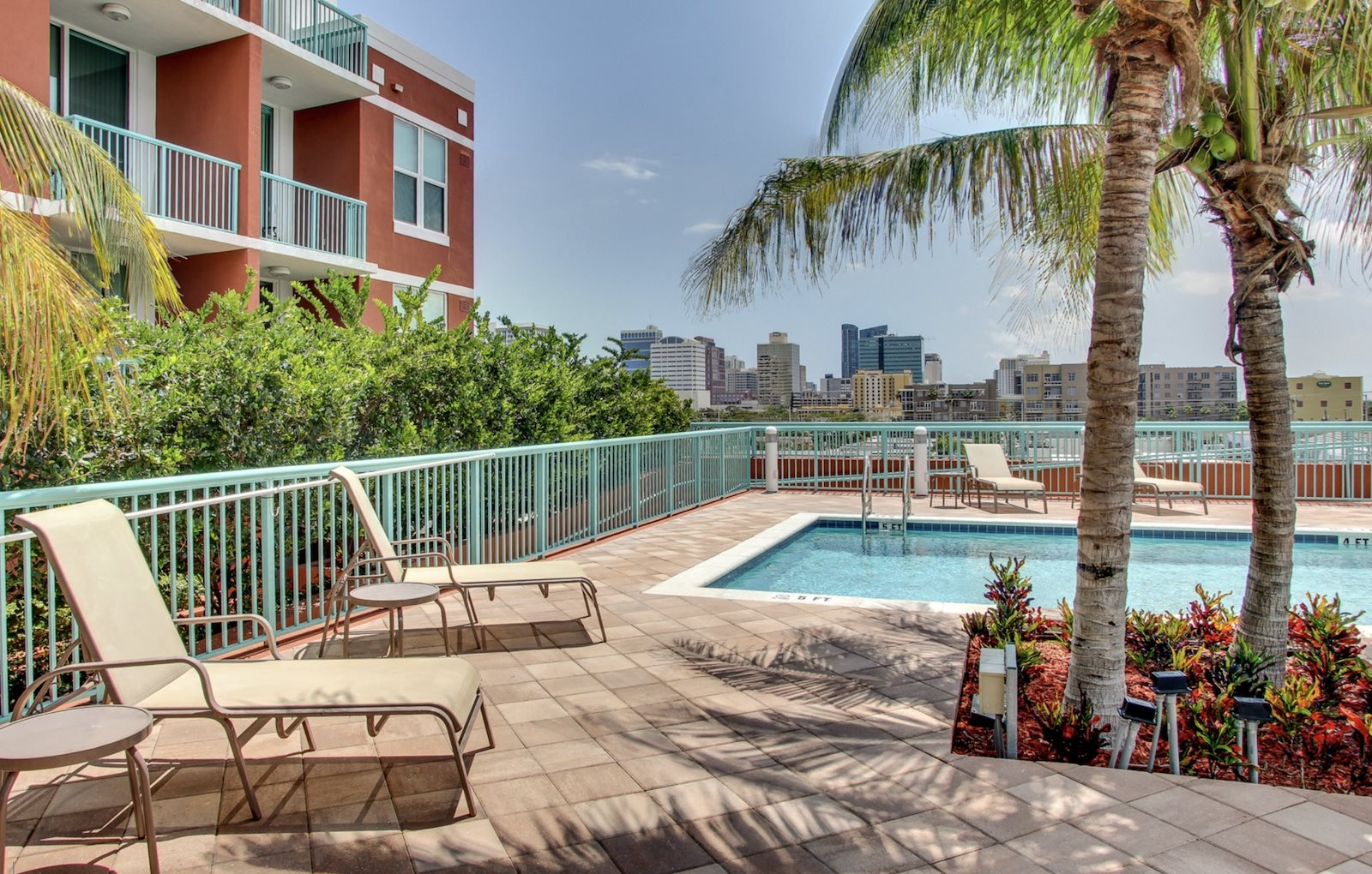 Progresso Point Apartments in Fort Lauderdale, FL Rooftop pool