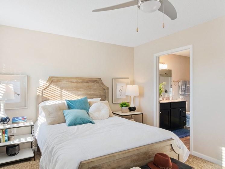 Warsaw Indiana apartment rentals Redwood Warsaw Master Bedroom Suite