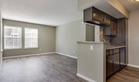 Gorgeous laminate flooring and upgraded kitchens are available in select units  Southeast Apartments For Rent   Southpoint Apartments