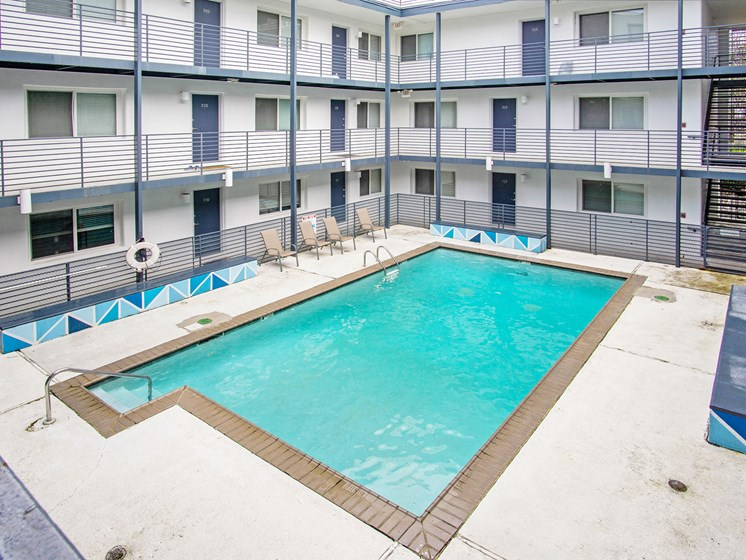 The 700 Exterior Pool