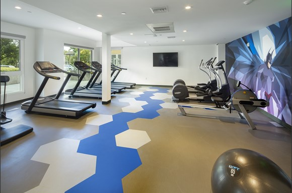 High Endurance Fitness Center at Concourse, California