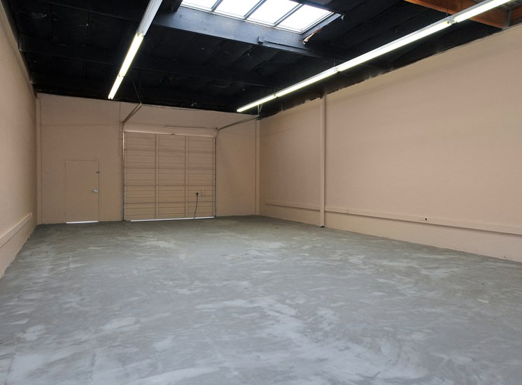 Example Warehouse has connecting office and restroom