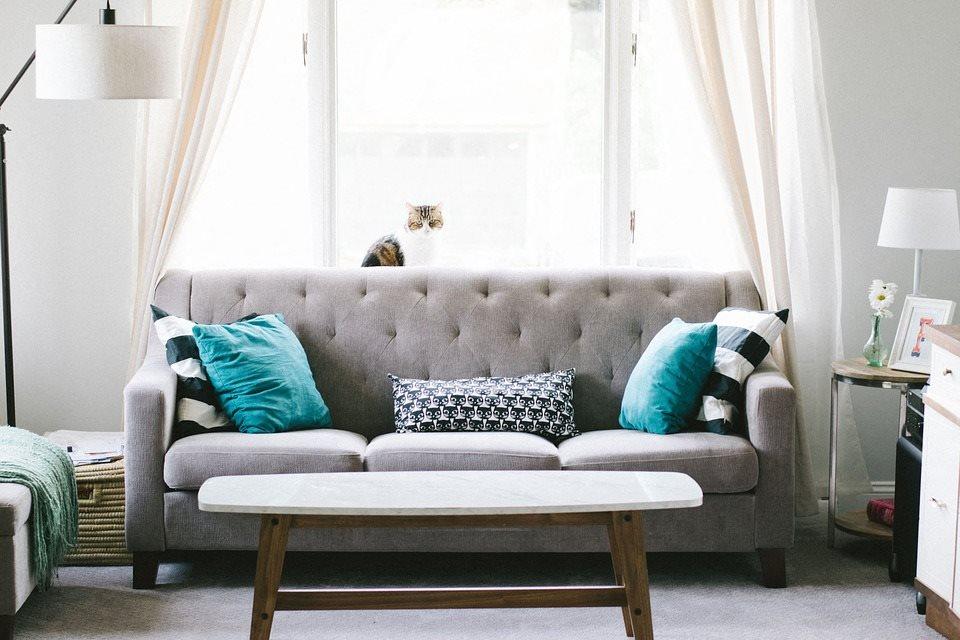 Living Room Sofa at West Oaks - Southfield, MI, Southfield, MI