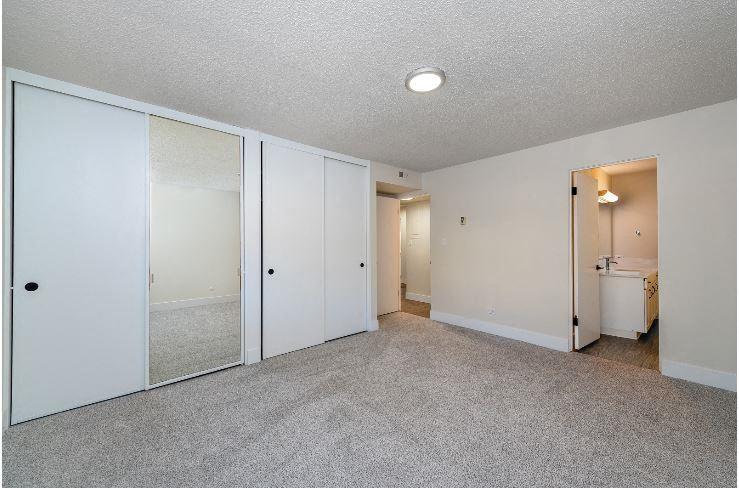 Bedroom at Parkview Apartments, Idaho, 83706