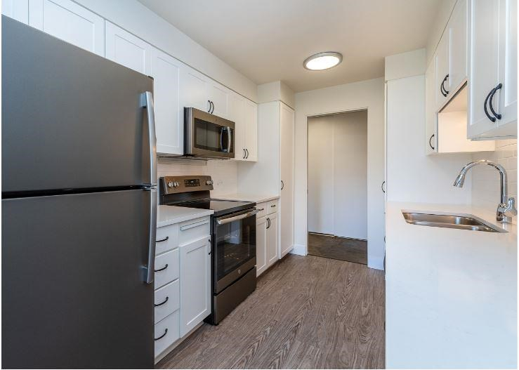 Fully Equipped Kitchen at Parkview Apartments, Idaho