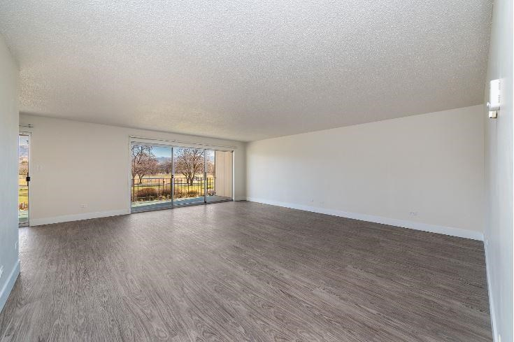 Large Spacious Living room with Oversized Windows at Parkview Apartments, Idaho