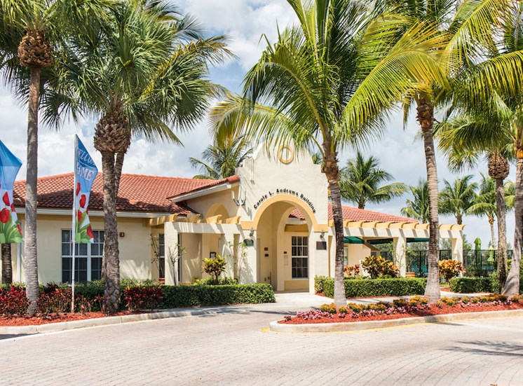 We have a great resident clubhouse at our Apartments in Hollywood, FL
