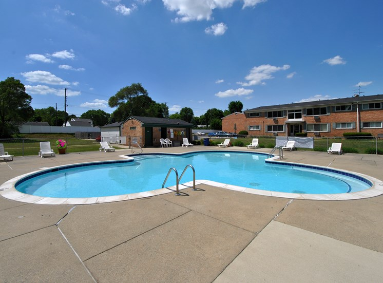 Plymouth Pool Area