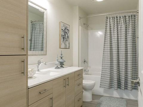 Bathroom Wide Shot at Harbor Heights, Olympia, 98501