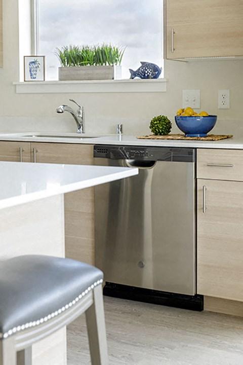 Kitchen Details at Harbor Heights, Olympia, Washington