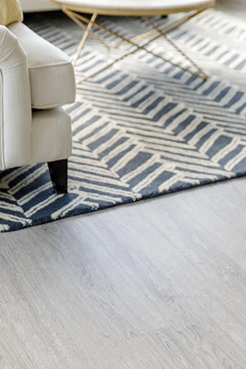 Living Room Floor Detail at Harbor Heights, Washington