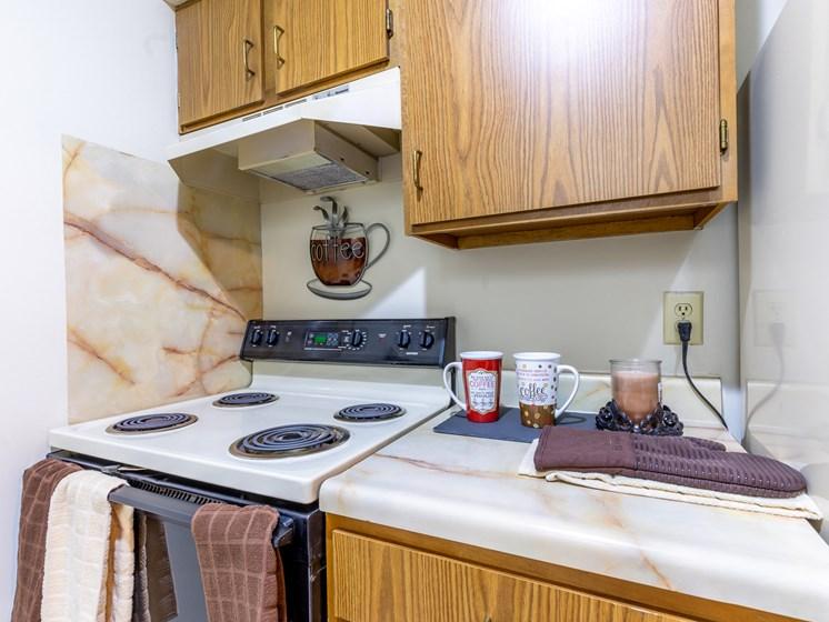 1 Bedroom kitchen range