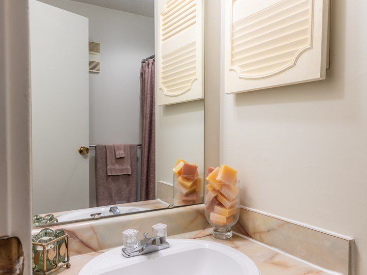 1 Bedroom bathroom sink