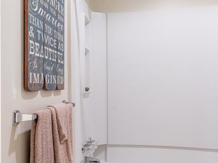 1 Bedroom bathroom shower