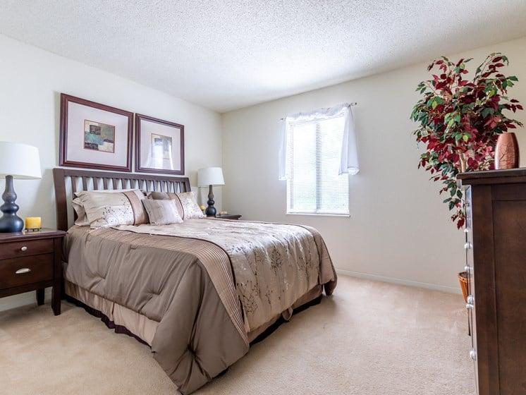 2 Bedroom bed window