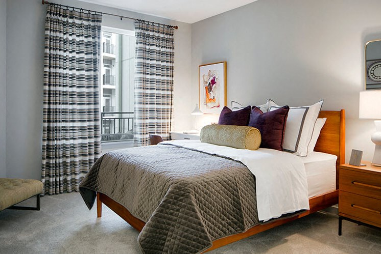 Spacious Bedroom With Comfortable Bed at Indigo 301, King of Prussia, PA
