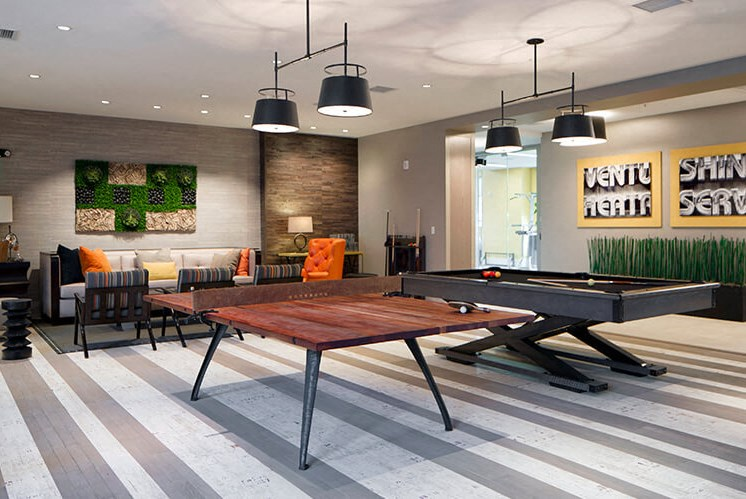 Gaming Room Plus Clubhouse at Indigo 301, King of Prussia, PA