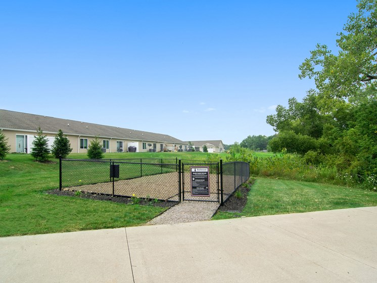 Valley City Ohio Apartment Rentals Redwood Valley City Dog Park Wide Angle