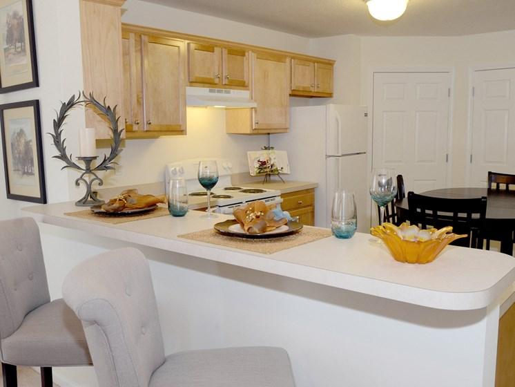 Valley City Ohio Apartment Rentals Redwood Valley City Standard Kitchen